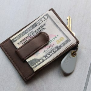 Reverse | Leather Money Clip