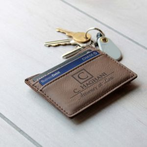 C. Haghani | Leather Money Clip Wallet
