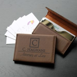 Leather Business Card Holder | C. Haghani
