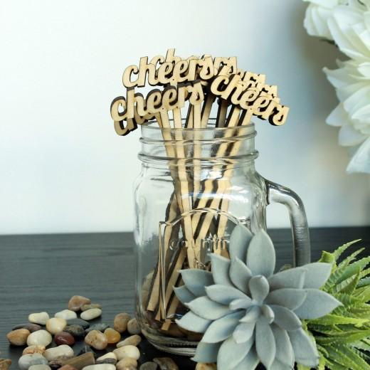 Cheers | Drink Stir Sticks