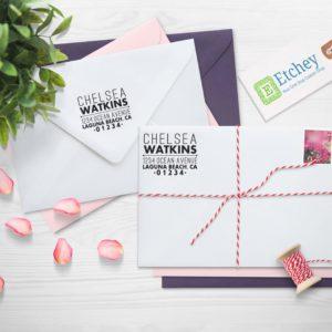 Chelsea Watkins | Custom Self Inking Rubber Stamp