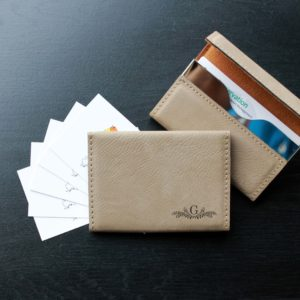 Leather Business Card Holder | G Reef Corner