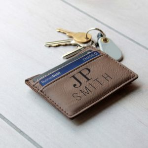 JP Smith | Leather Money Clip Wallet