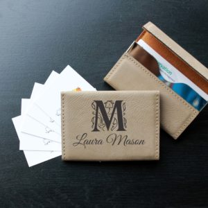 Leather Business Card Holder | Laura Mason