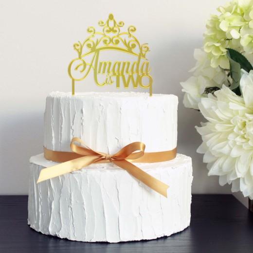 Birthday Cake Topper | Amanda