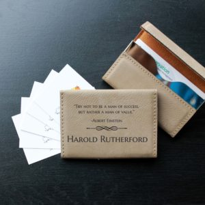 Leather Business Card Holder | Harold Rutherford