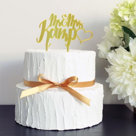 Wedding Cake Topper   Kamp