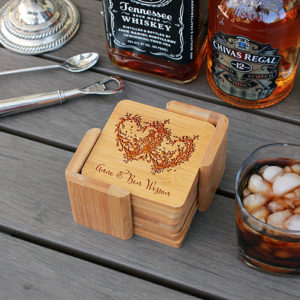 Anne Ben | Personalized Bamboo Coasters