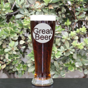 Personalized Pilsner Glass | Great Beer
