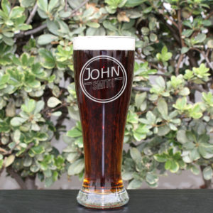 Personalized Pilsner Glass | John Smith