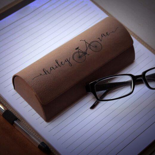 Personalized Glasses Case   Hailey Rae Center
