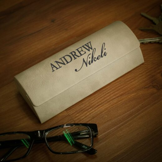 Personalized Glasses Case | Andrew