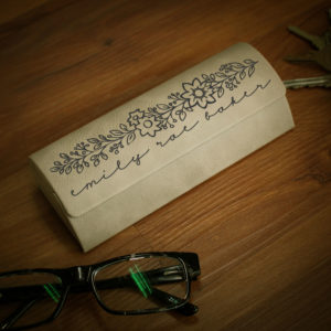 Personalized Glasses Case | Emily Rae Baker