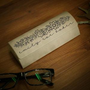 Personalized Glasses Case   Emily Rae Baker