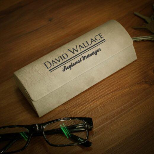 Personalized Glasses Case | David