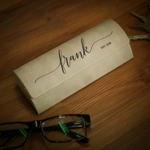 Personalized Glasses Case   Frank