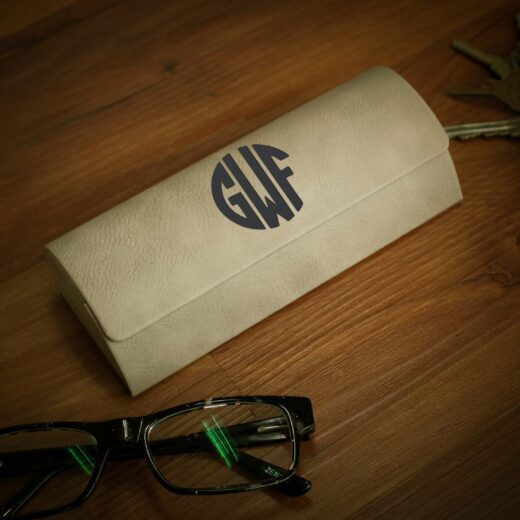 Personalized Glasses Case   GWF