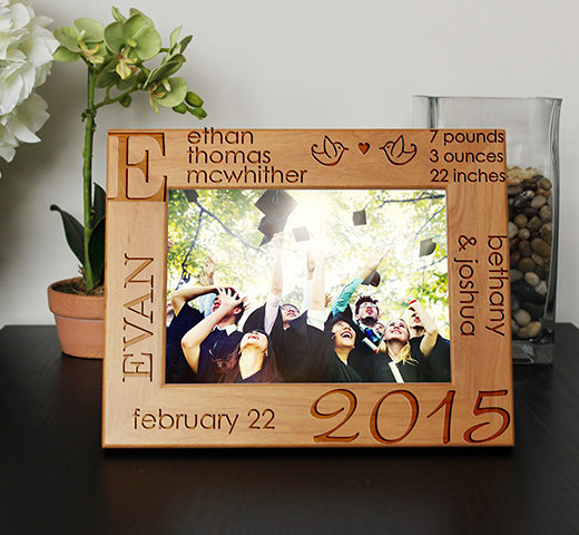 Personalized Graduation Picture Frame | Ethan