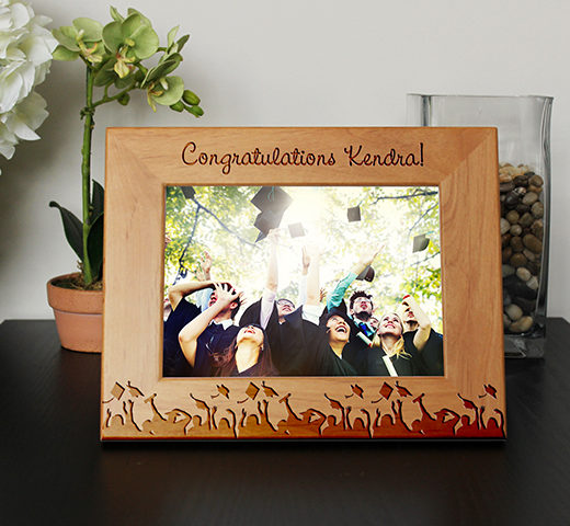 Personalized Graduation Picture Frame | Kendra