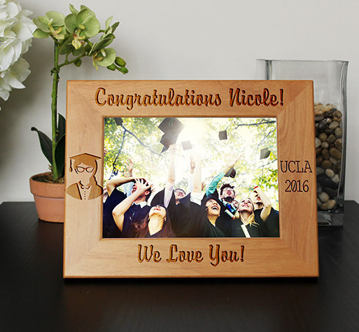 Personalized Graduation Picture Frame | Nicole