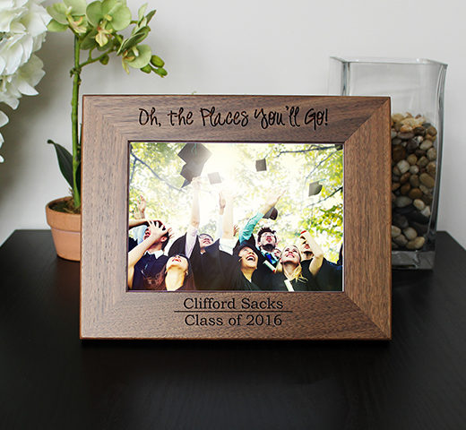 Personalized Graduation Picture Frame | Oh The Places