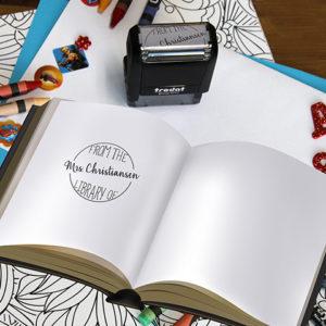 Personalized Teacher Self Ink Stamp | Christiansen