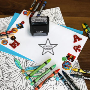 Personalized Teacher Self Ink Stamp | Great Job