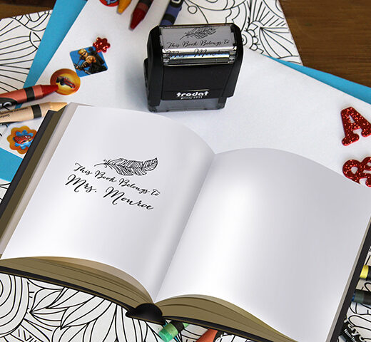 Personalized Teacher Self Ink Stamp   Monroe