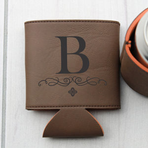 Personalized Beer Sleeve | B Monogram