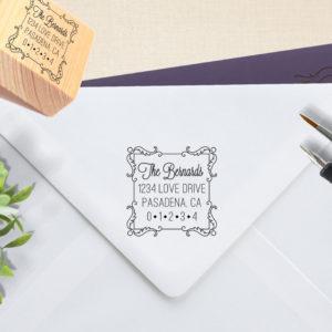 Bernards | Custom Rubber Wood Mount Stamp