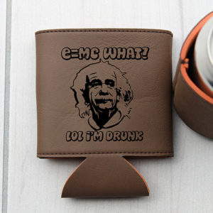 Personalized Beer Sleeve | E=MC