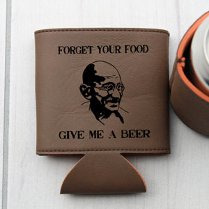Personalized Beer Sleeve | Forget Food