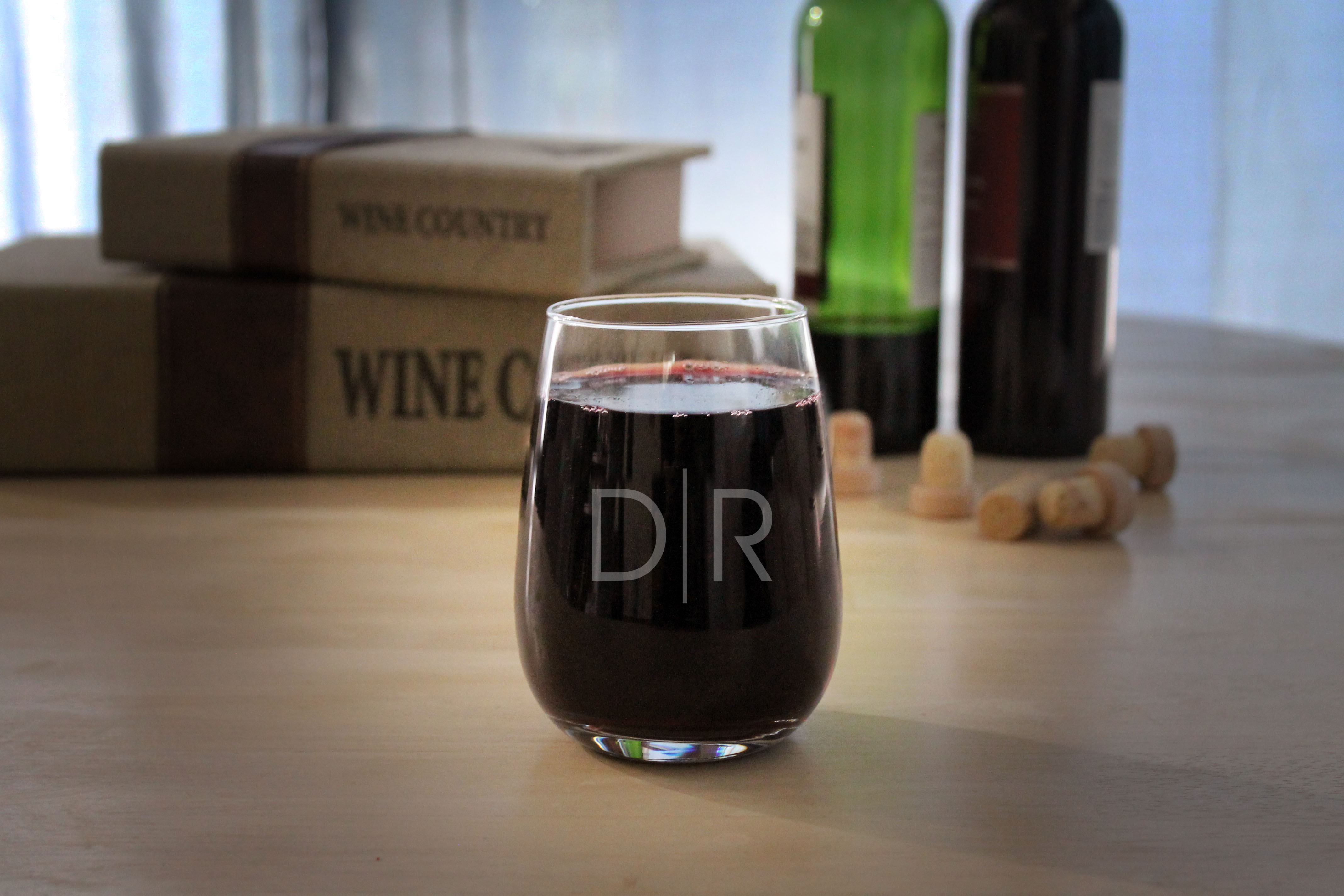 Personalized Wine Glasses | DR