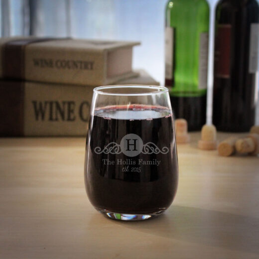 Personalized Wine Glasses | Hollis
