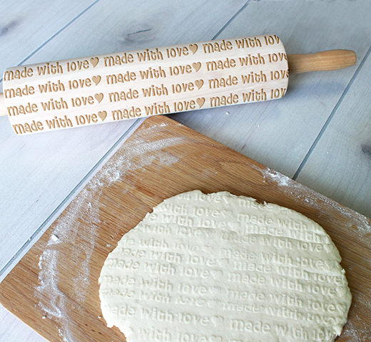 Personalized Rolling Pin | Made With Love