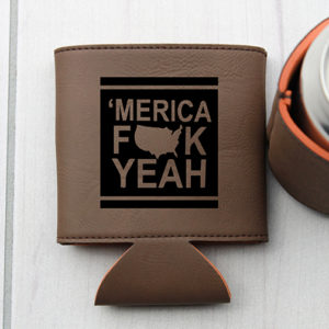 Personalized Beer Sleeve | 'Merica