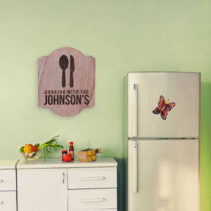 Personalized Wood Family Name Sign | Cookin With The Johnsons