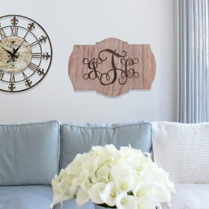 Personalized Wood Family Name Sign | JTC