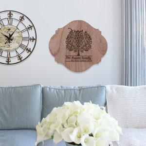 Personalized Wood Family Name Sign | Mason