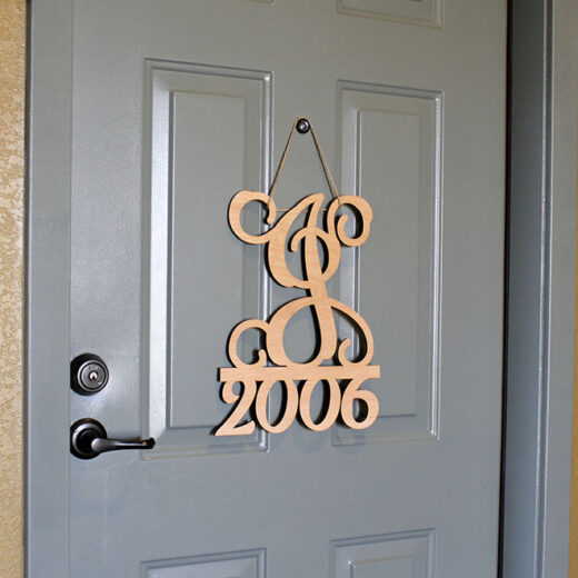 Personalized Front Door Sign | J2006