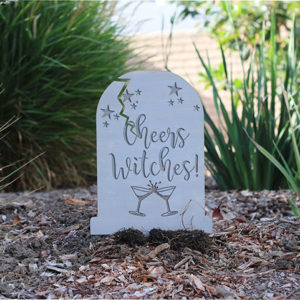 Halloween Tombstone Custom Funny | Cheers Witches