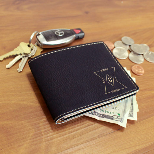 Personalized Leather Wallet | Covington