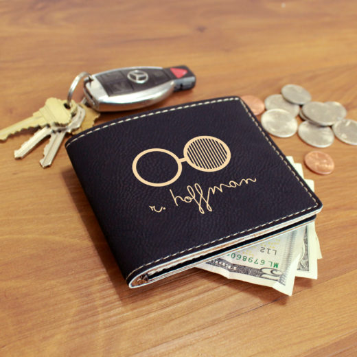 Personalized Leather Wallet | Hoffman