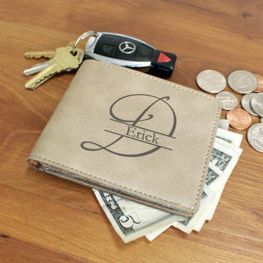 Personalized Leather Wallet | Erick