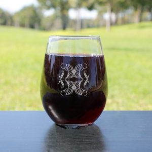 Personalized Wine Glasses | Home Decor 2