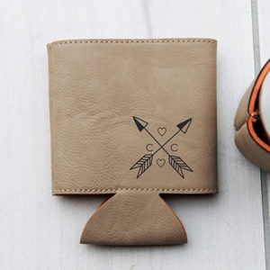 Personalized Beer Sleeve | Arrows Key