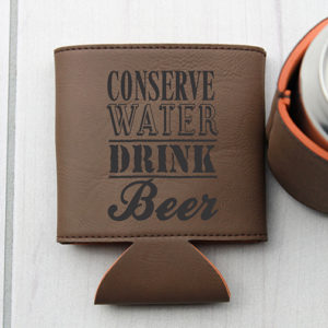 Personalized Beer Sleeve | Conserve Water