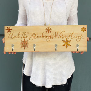 Personalized Stocking Hanger | Stockings Were Hung