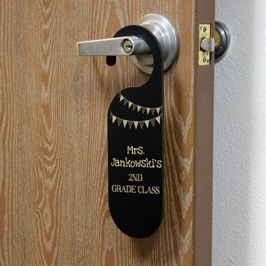 Personalized Door Knob Sign | Jankowski
