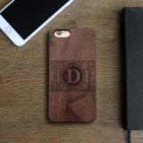 Personalized Wood Iphone Case | Damask